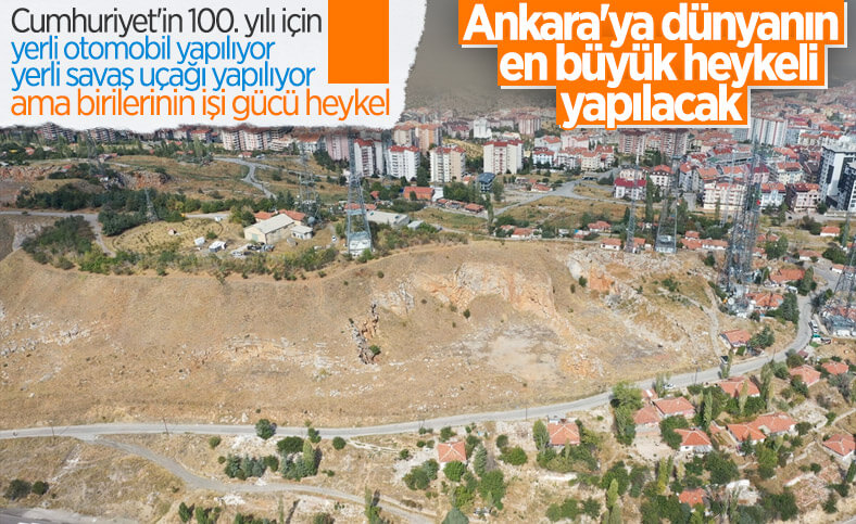 CHP'li Ankara Büyükşehir Belediyesi'nden heykel yarışması