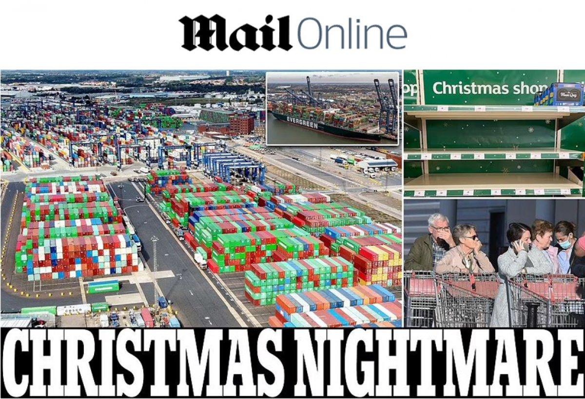 İngiltere limanlarında nakliye krizi yaşanıyor #9