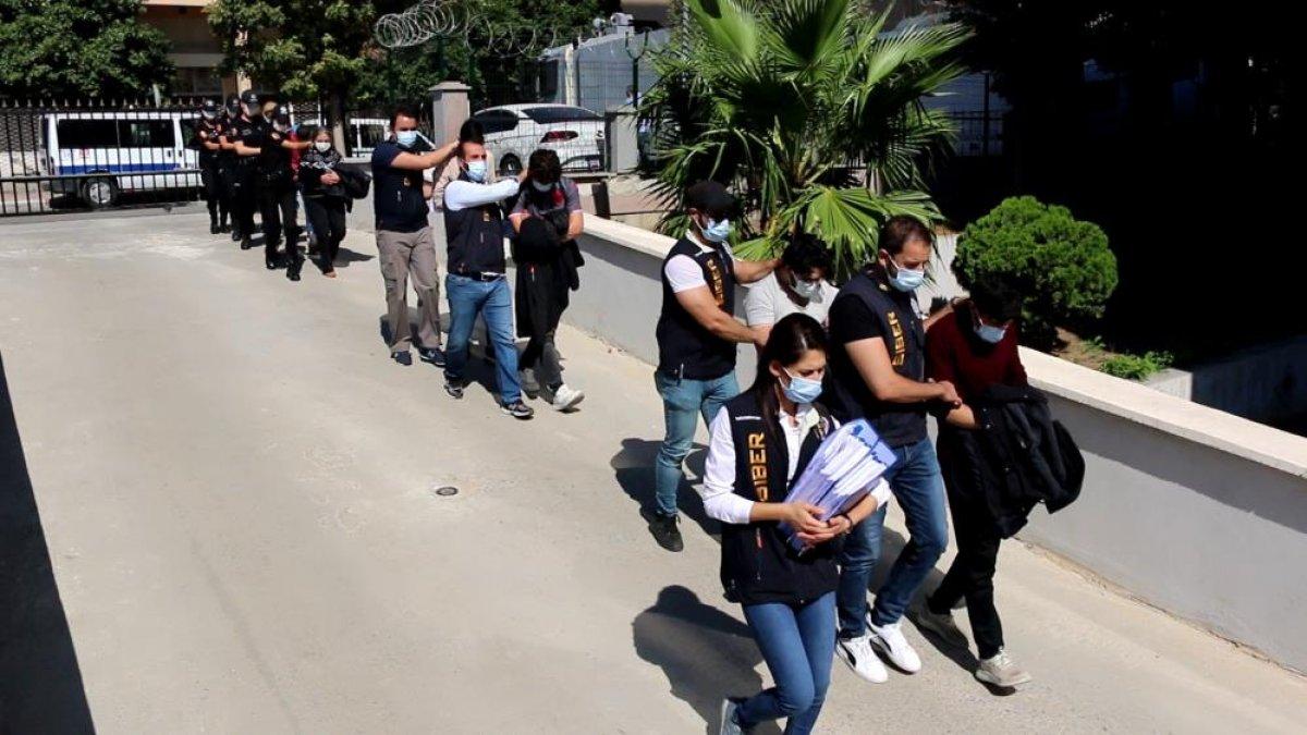 Mersin merkezli 42 ilde jigolo operasyonu: 182 kişi dolandırıldı #1