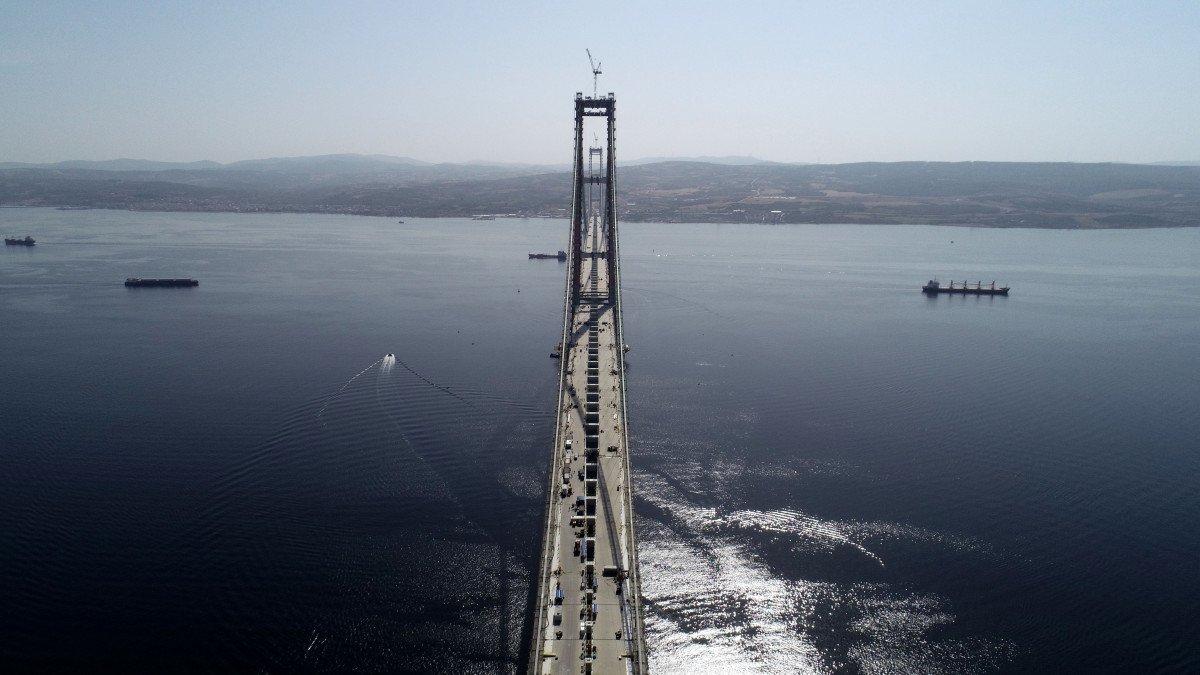 1915 Çanakkale Köprüsü nde sona yaklaşıldı #3