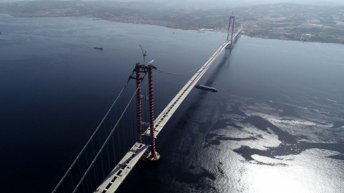 1915 Çanakkale Köprüsü nde sona yaklaşıldı #4