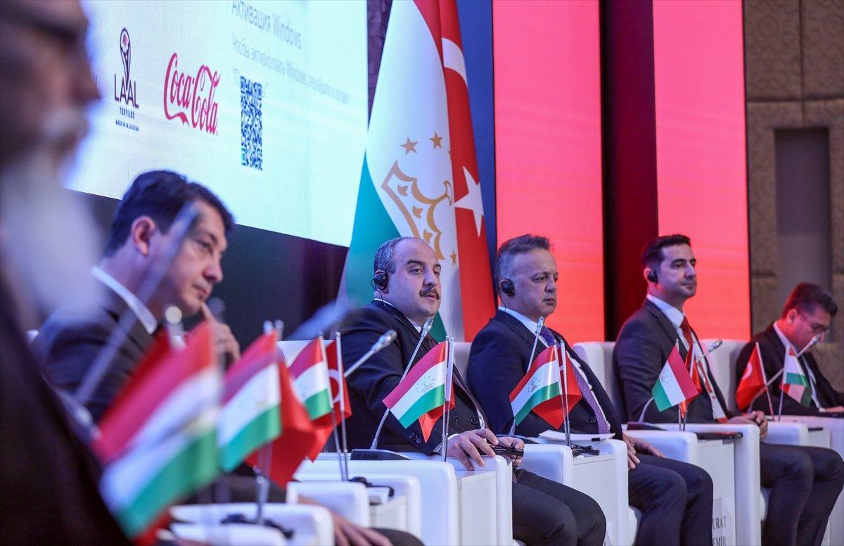Mustafa Varank: Hedefimiz Tacikistan ile 1 milyar dolarlık ticaret hacmi  #1