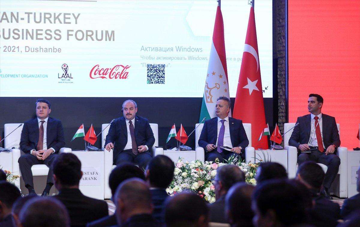Mustafa Varank: Hedefimiz Tacikistan ile 1 milyar dolarlık ticaret hacmi  #5