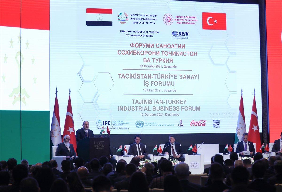 Mustafa Varank: Hedefimiz Tacikistan ile 1 milyar dolarlık ticaret hacmi  #2