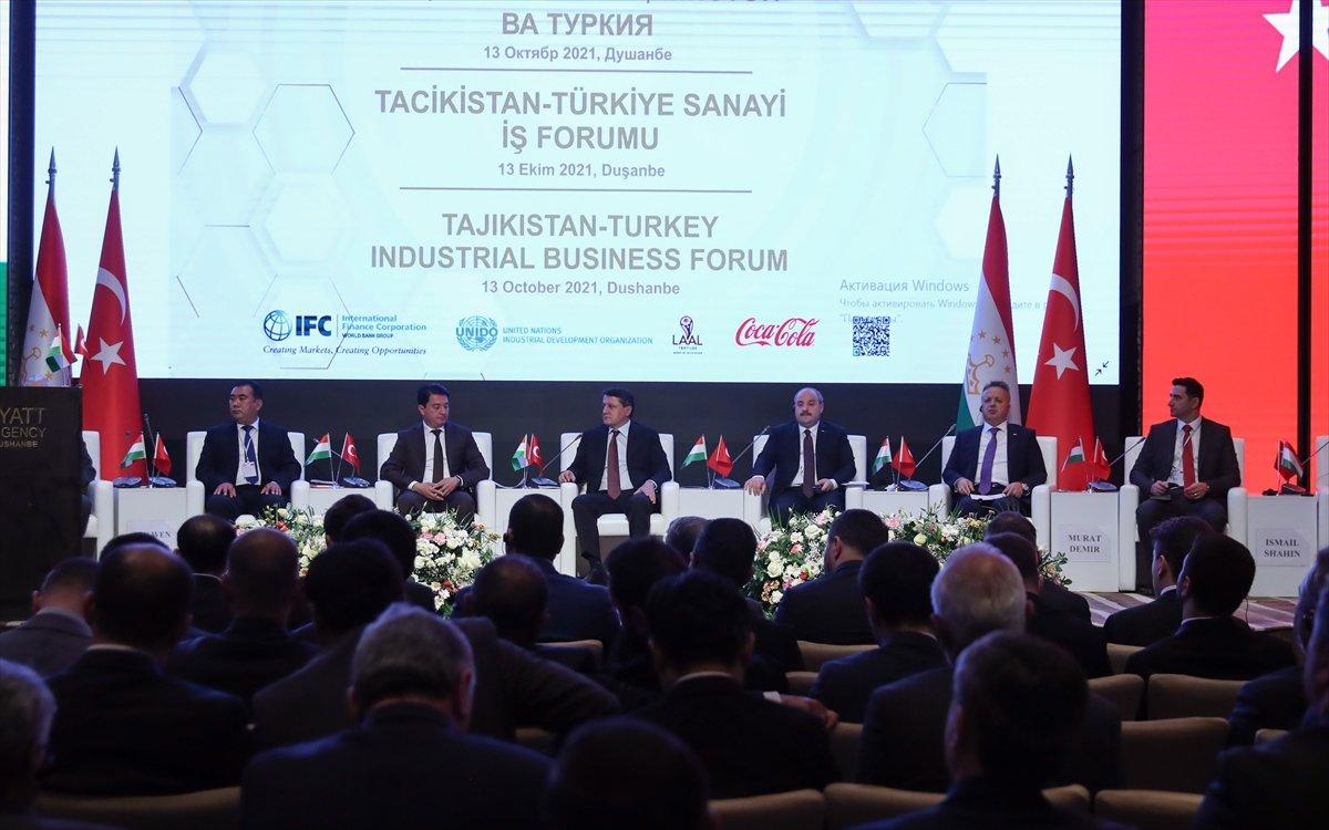 Mustafa Varank: Hedefimiz Tacikistan ile 1 milyar dolarlık ticaret hacmi  #4