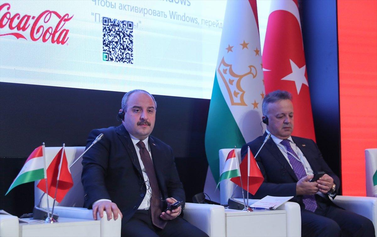 Mustafa Varank: Hedefimiz Tacikistan ile 1 milyar dolarlık ticaret hacmi  #3