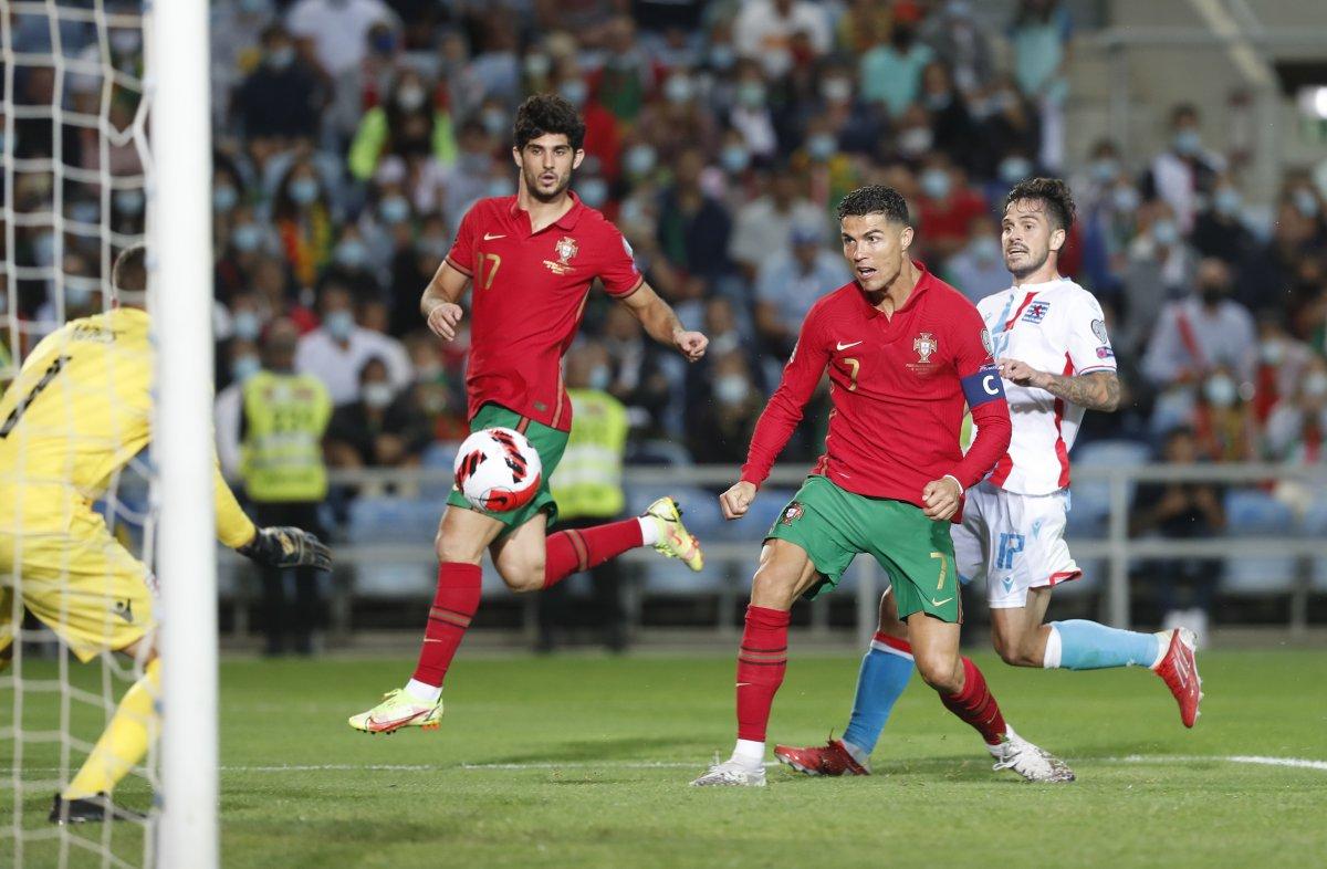 Ronaldo lu Portekiz, Lüksemburg u beşledi #1