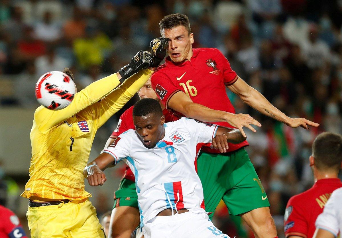 Ronaldo lu Portekiz, Lüksemburg u beşledi #3
