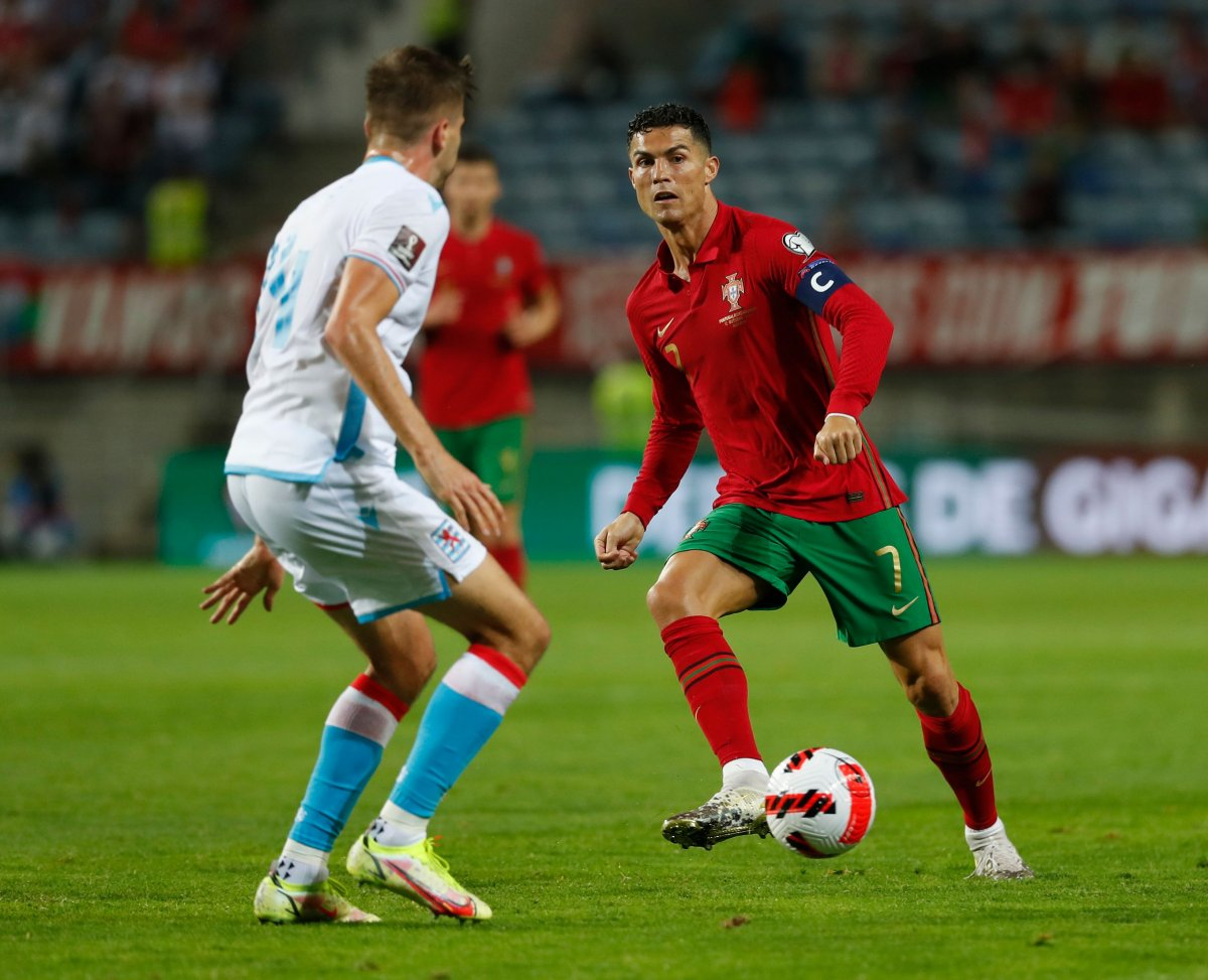 Ronaldo lu Portekiz, Lüksemburg u beşledi #4