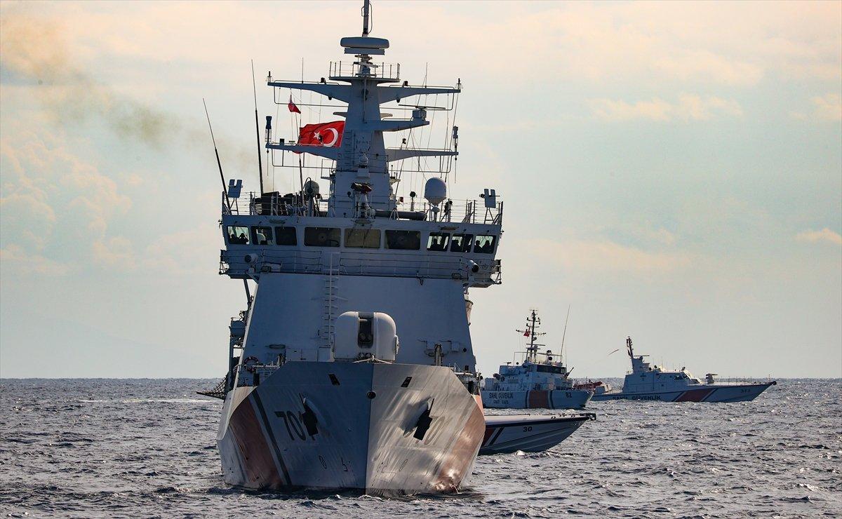Anadolu Yıldızı 2021 Tatbikatı nın Ege Denizi ndeki kısmı başladı #8