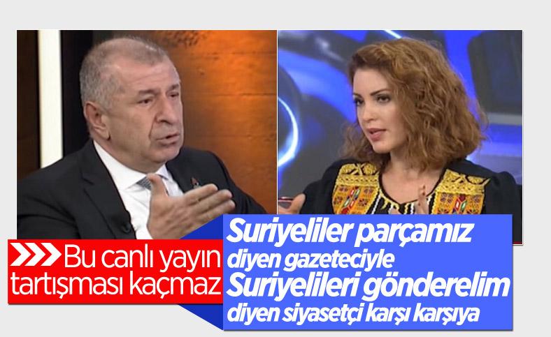 Ümit Özdağ ile Nagehan Alçı'nın toplumsal gerilim tartışması
