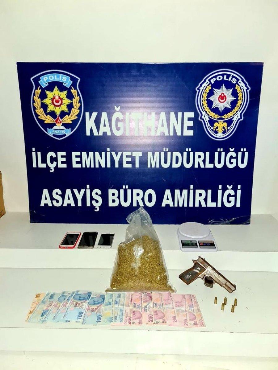 Kağıthane de,  Çaki  lakaplı uyuşturucu taciri yakalandı #9