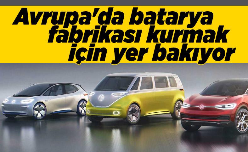 Volkswagen, Avrupa'da batarya fabrikası kuracak