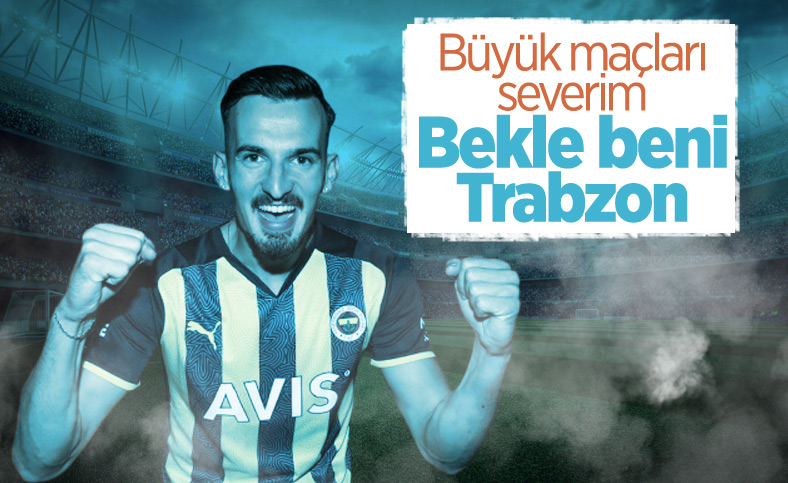 Mergim Berisha: Umarım Trabzonspor'a gol atarım