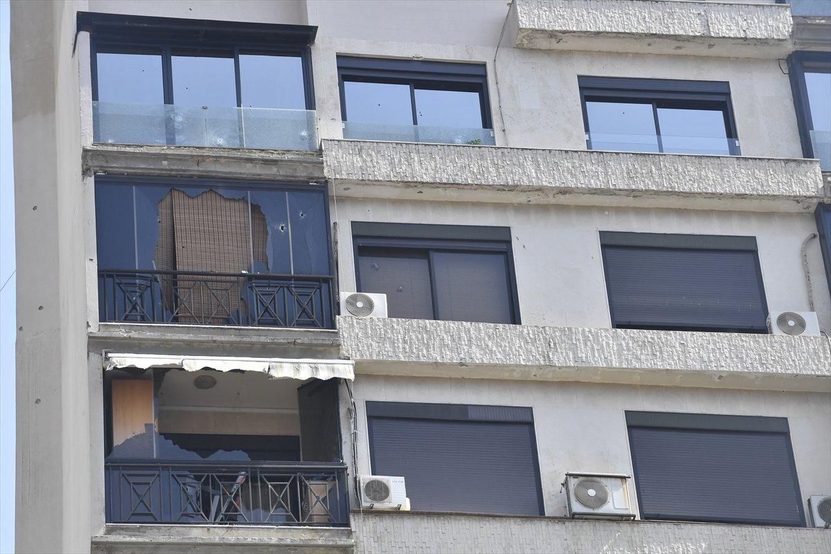 Beyrut taki patlama soruşturması protesto edilince sokaklar karıştı #9