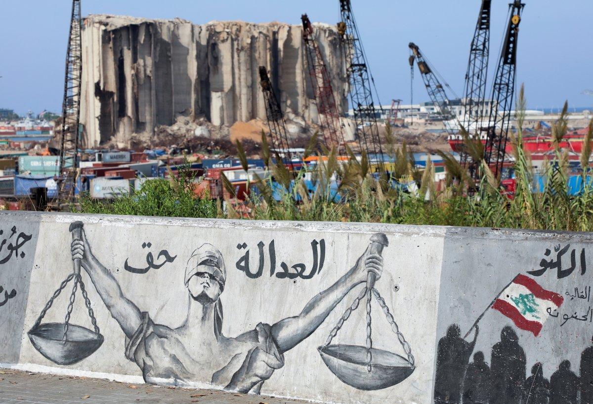 Beyrut taki patlama soruşturması protesto edilince sokaklar karıştı #6