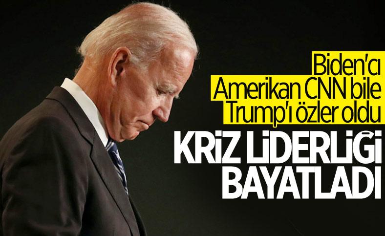 CNN'den Biden'a eleştiri: Kriz liderliği markası bayatladı