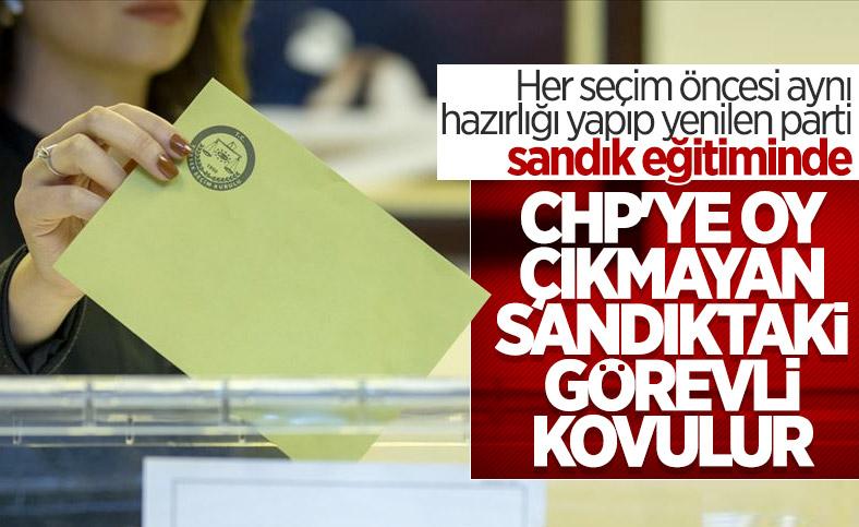 CHP'de seçim için sandık eğitimleri başladı
