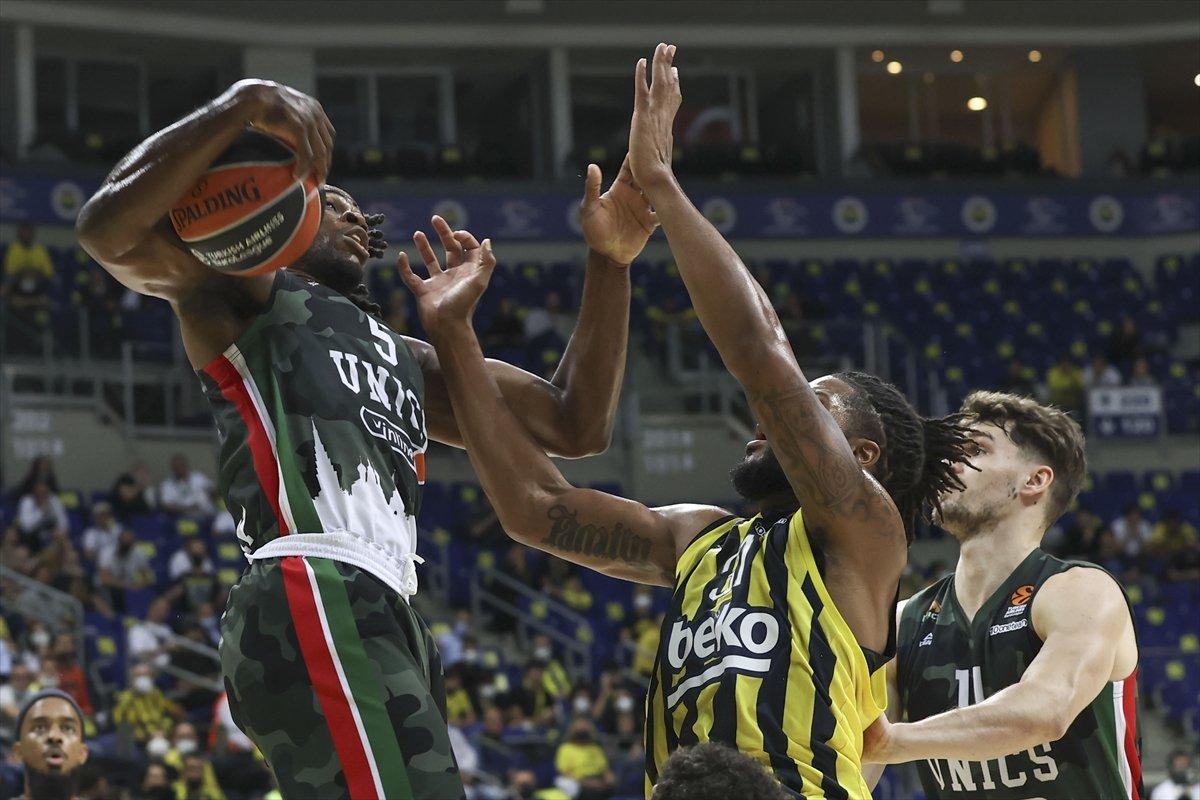 Fenerbahçe EuroLeague de Kazan ı farklı yendi #1