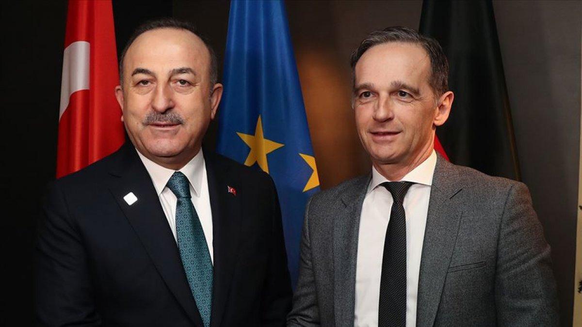 Mevlüt Çavuşoğlu, Alman mevkidaşı Heiko Maas ile görüştü #1