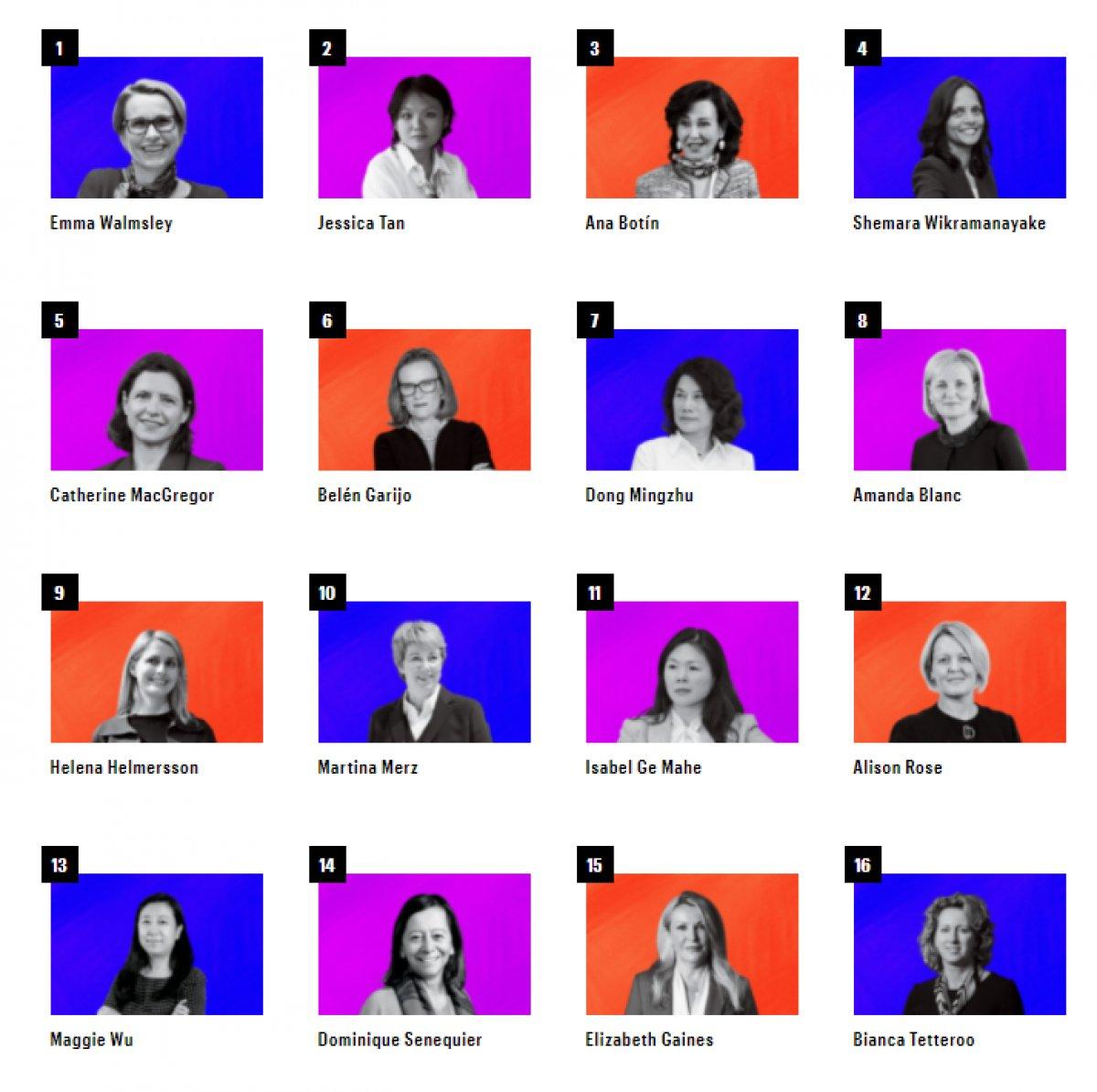 Fortune, dünyanın en güçlü 50 kadınını açıkladı #1