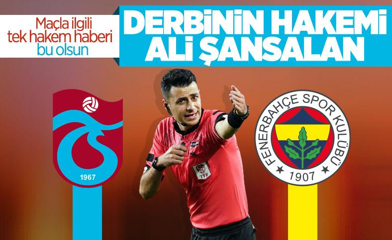 Trabzonspor-Fenerbahçe maçının hakemi