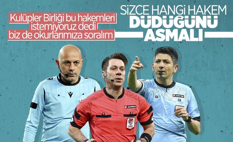 Türk futbolunda hakem tartışması