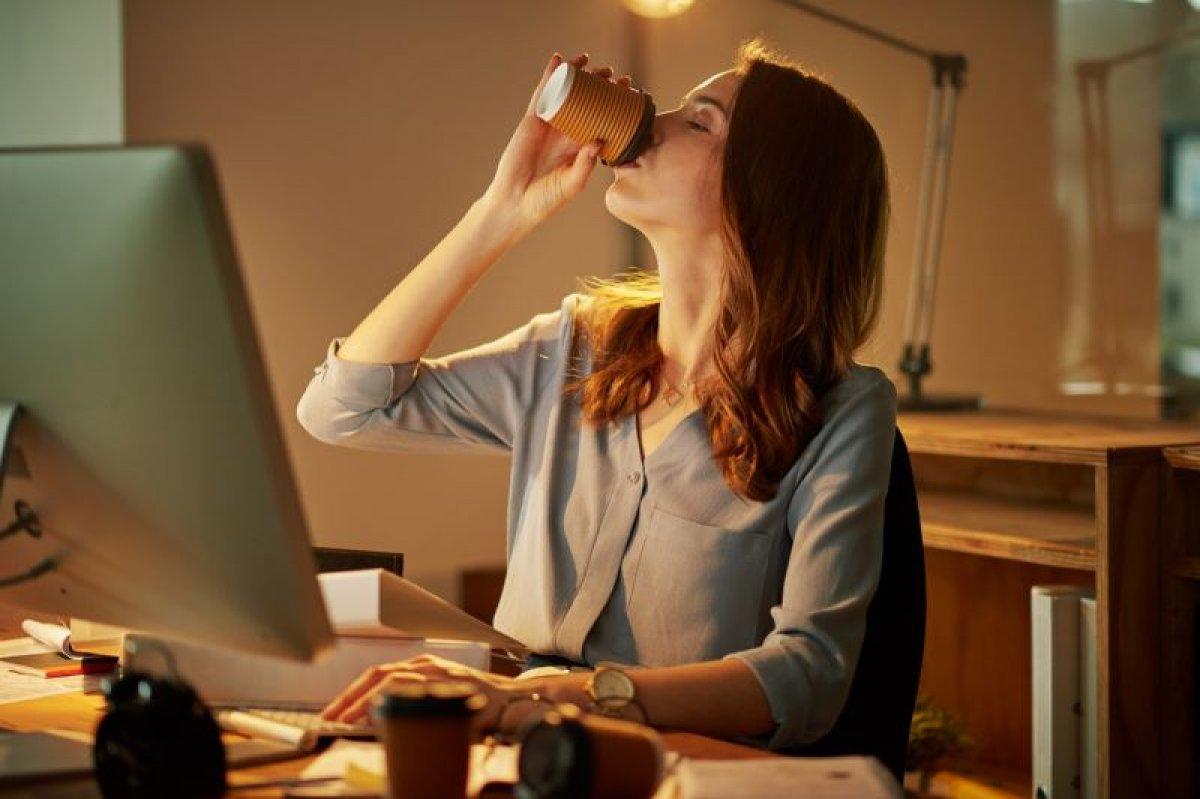 Bilim hemfikir: Bir fincan kahve için ve 20 dakika boyunca yatın... #1