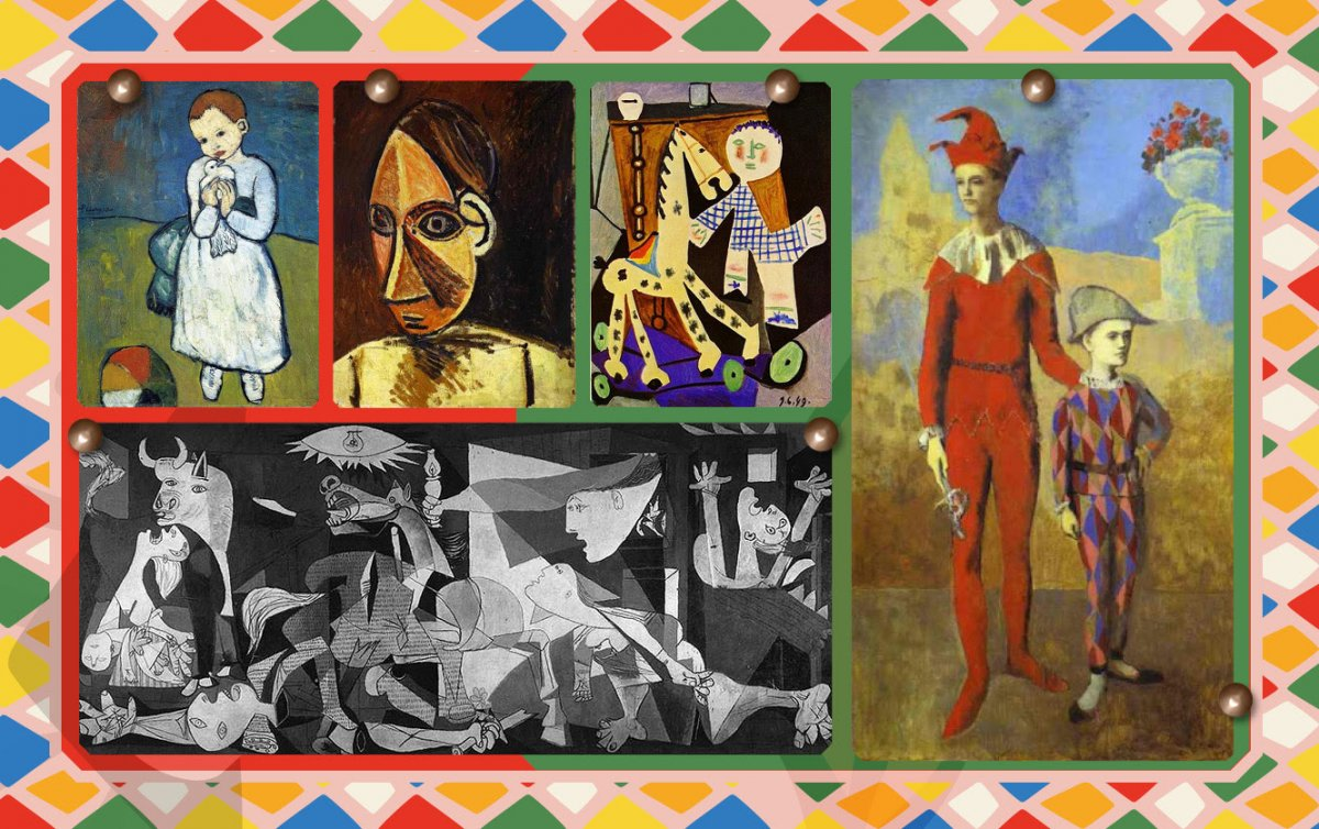 Sanatta bir dâhinin kitabı: Picasso nun Gözleri #2