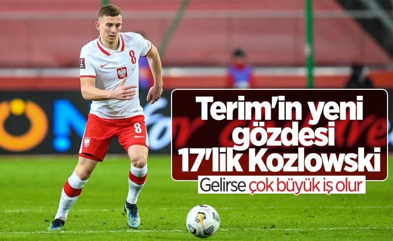 Galatasaray'ın hedefi 17'lik Kacper Kozlowski