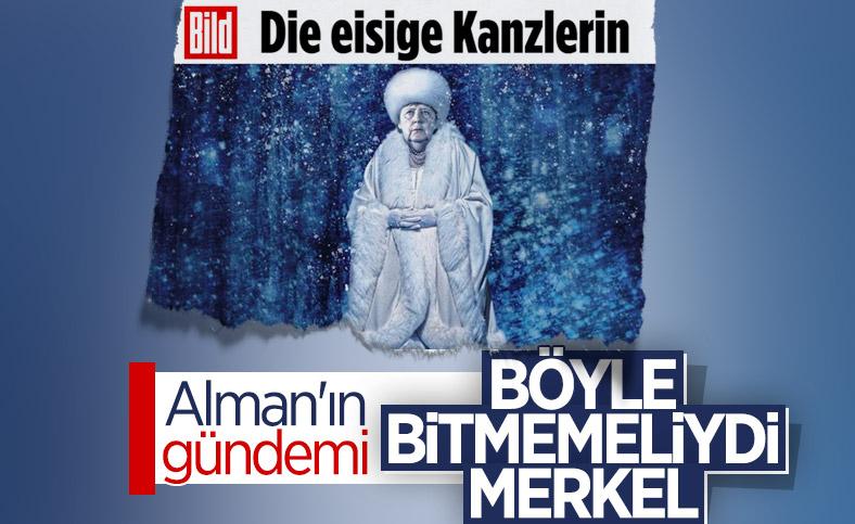 Alman basınından Merkel'e: Dondurucu soğukta bizi yalnız bırakıyor