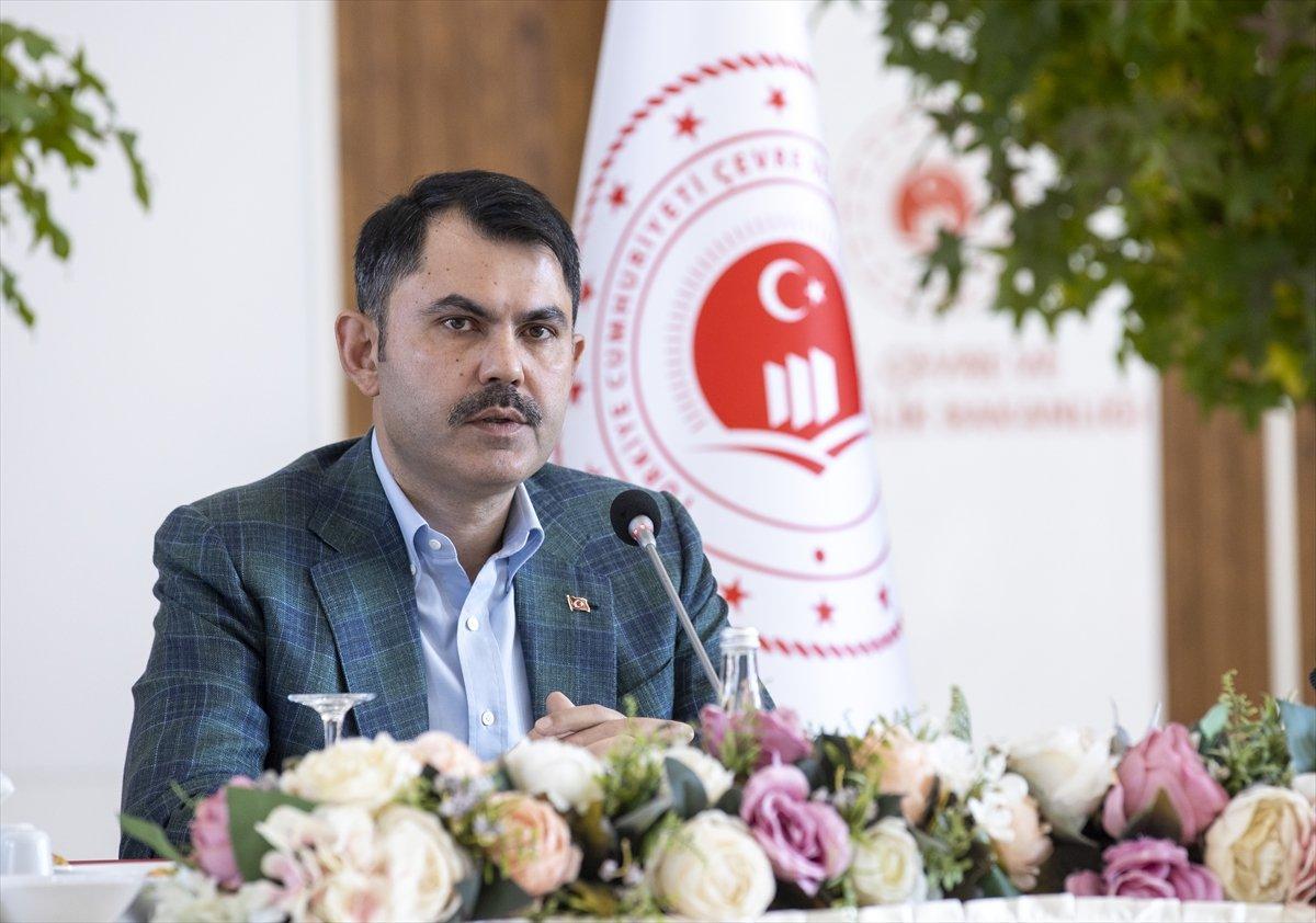 Murat Kurum: Türkiye, iklim değişikliğiyle mücadelede öncü olacak #1