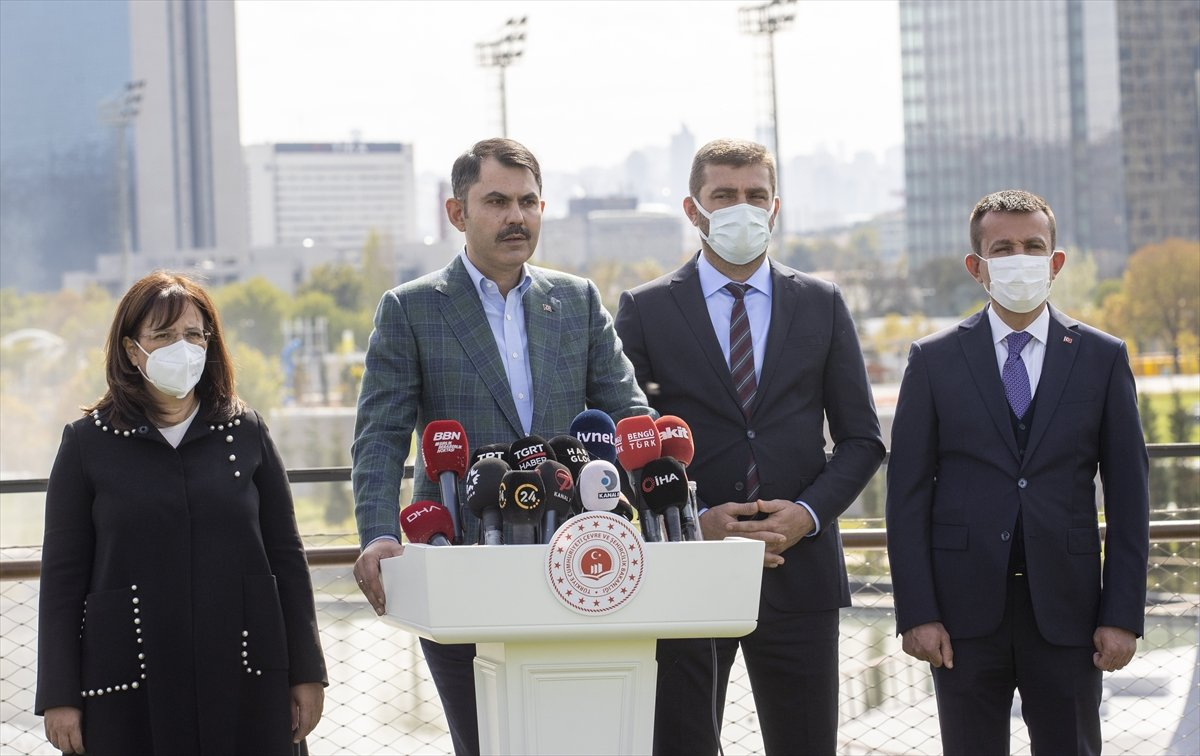 Murat Kurum: Türkiye, iklim değişikliğiyle mücadelede öncü olacak #8
