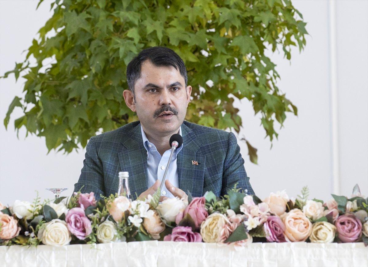 Murat Kurum: Türkiye, iklim değişikliğiyle mücadelede öncü olacak #3
