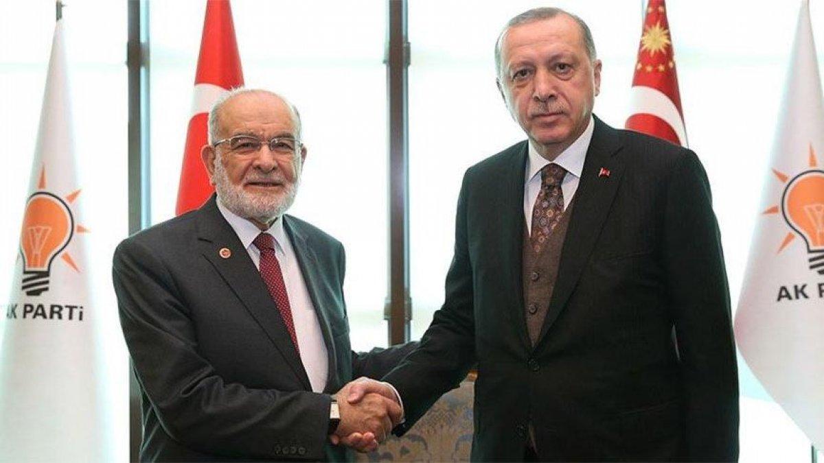 Cumhurbaşkanı Erdoğan, Temel Karamollaoğlu ile görüşecek #2