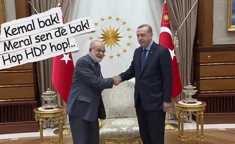 Cumhurbaşkanı Erdoğan, Temel Karamollaoğlu ile görüşecek
