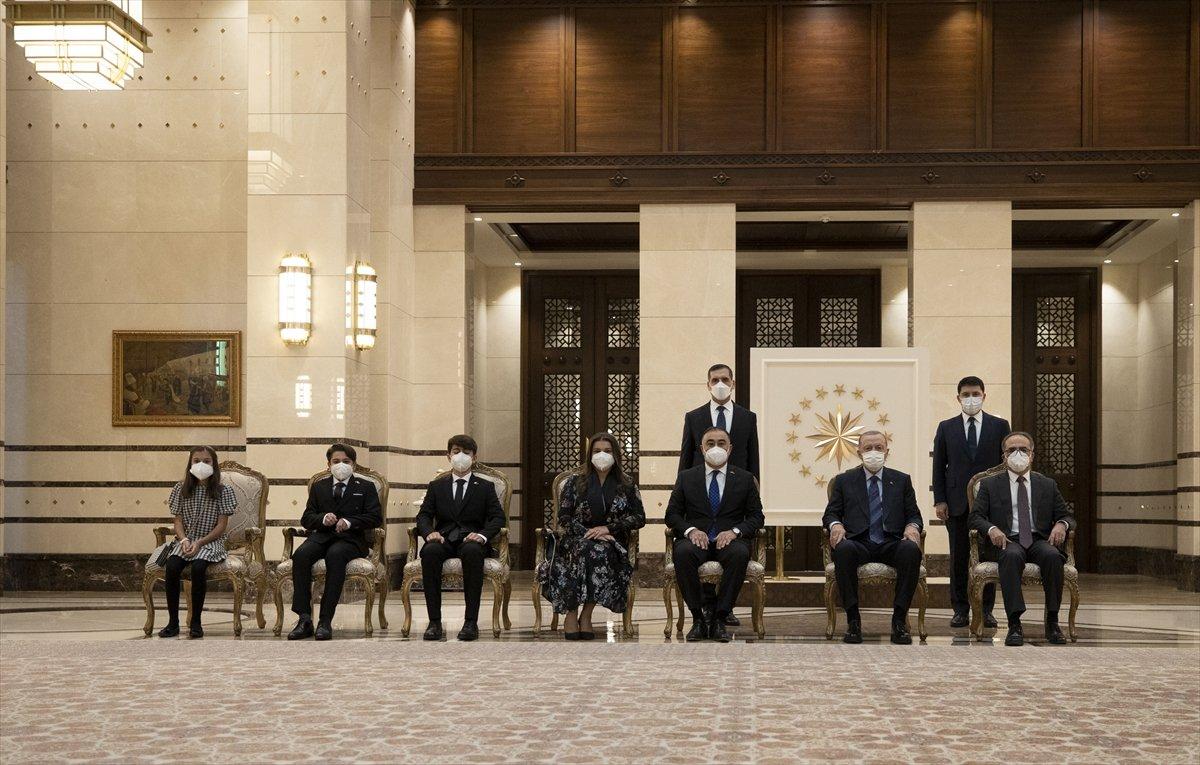Azerbaycan ın Ankara Büyükelçisi Mammadov, Erdoğan a güven mektubu sundu #2