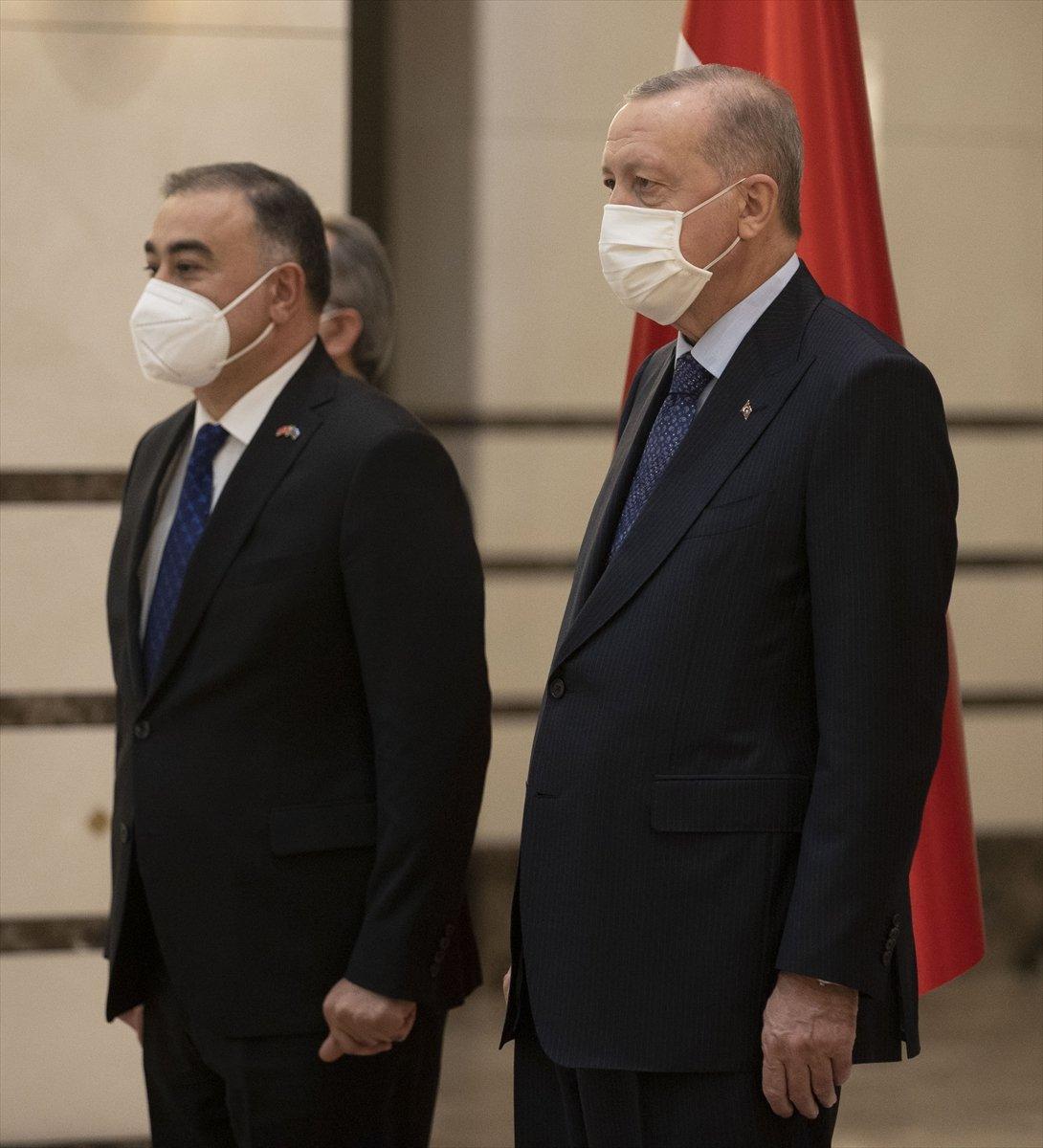 Azerbaycan ın Ankara Büyükelçisi Mammadov, Erdoğan a güven mektubu sundu #4