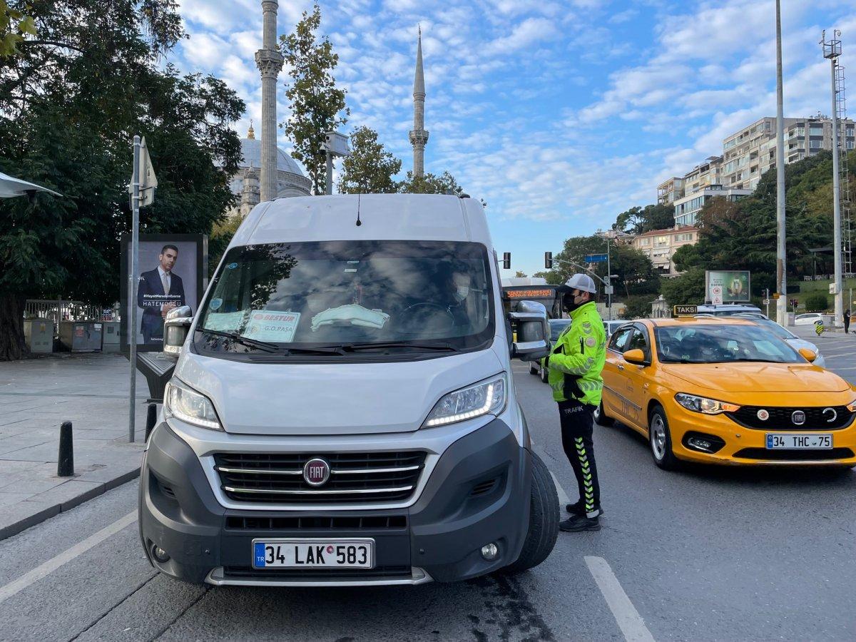 İstanbul'da okul servislerine yönelik denetim #2
