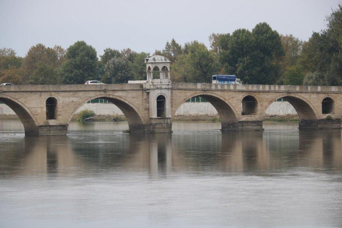 Edirne de nehirlerde su taşkını yaşandı #6