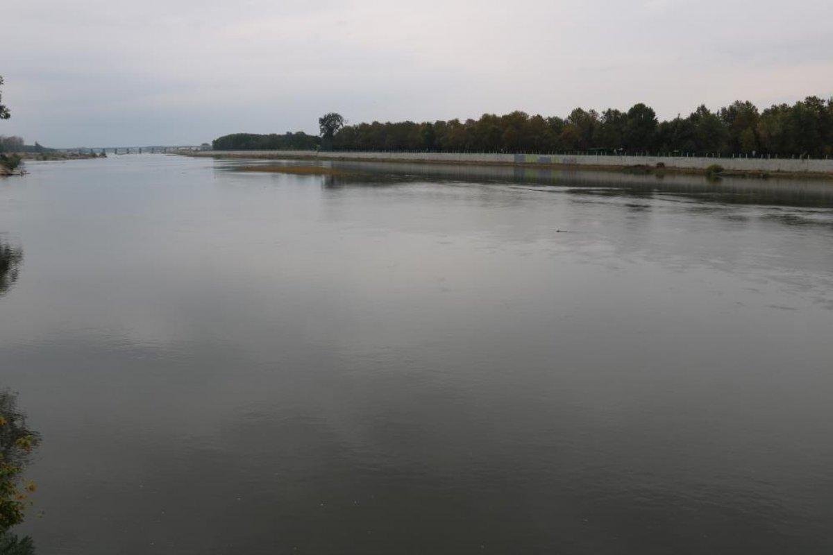 Edirne de nehirlerde su taşkını yaşandı #5