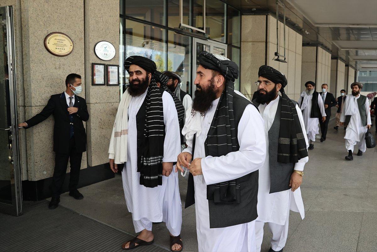 Mevlüt Çavuşoğlu ndan Taliban görüşmesine ilişkin açıklama #3