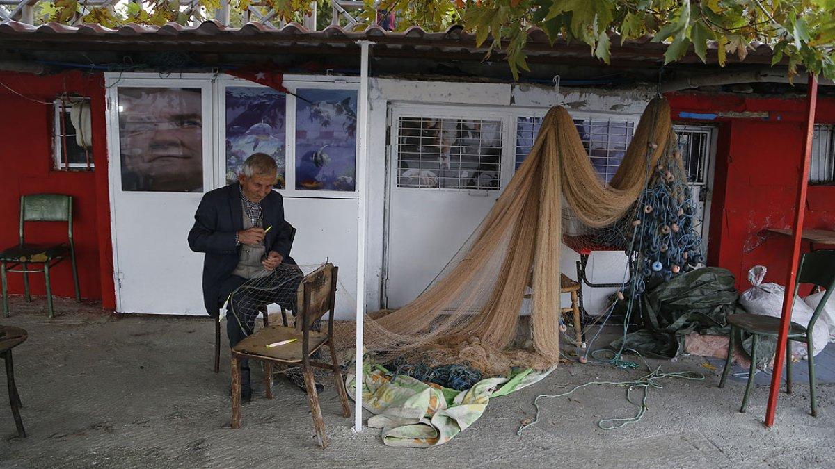 Tekirdağ da 64 yıllık balıkçı, 79 yaşına gelmesine rağmen denizden ayrılamıyor #1