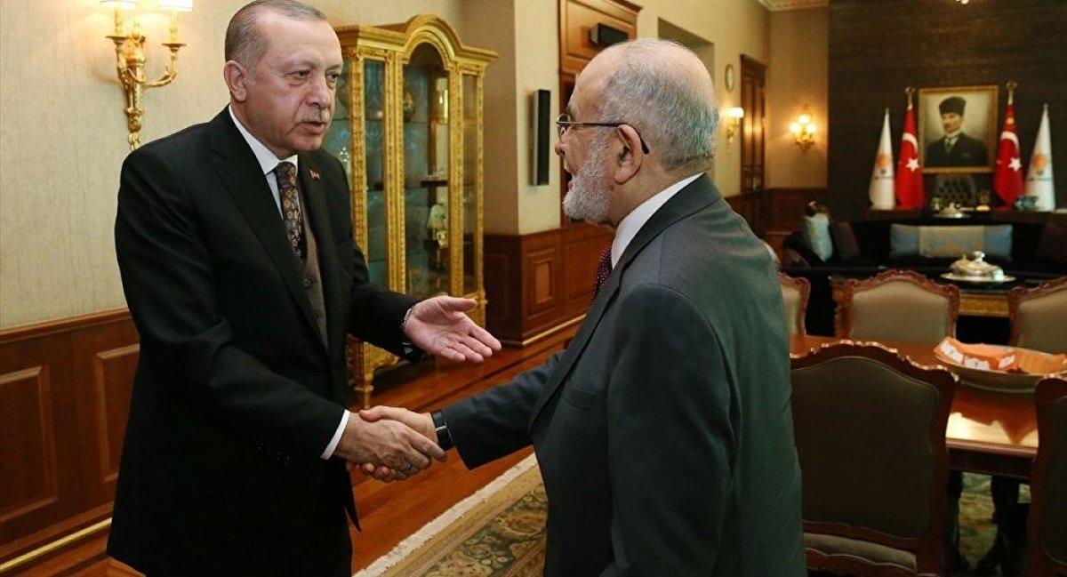 Cumhurbaşkanı Erdoğan, Temel Karamollaoğlu ile görüşecek #1