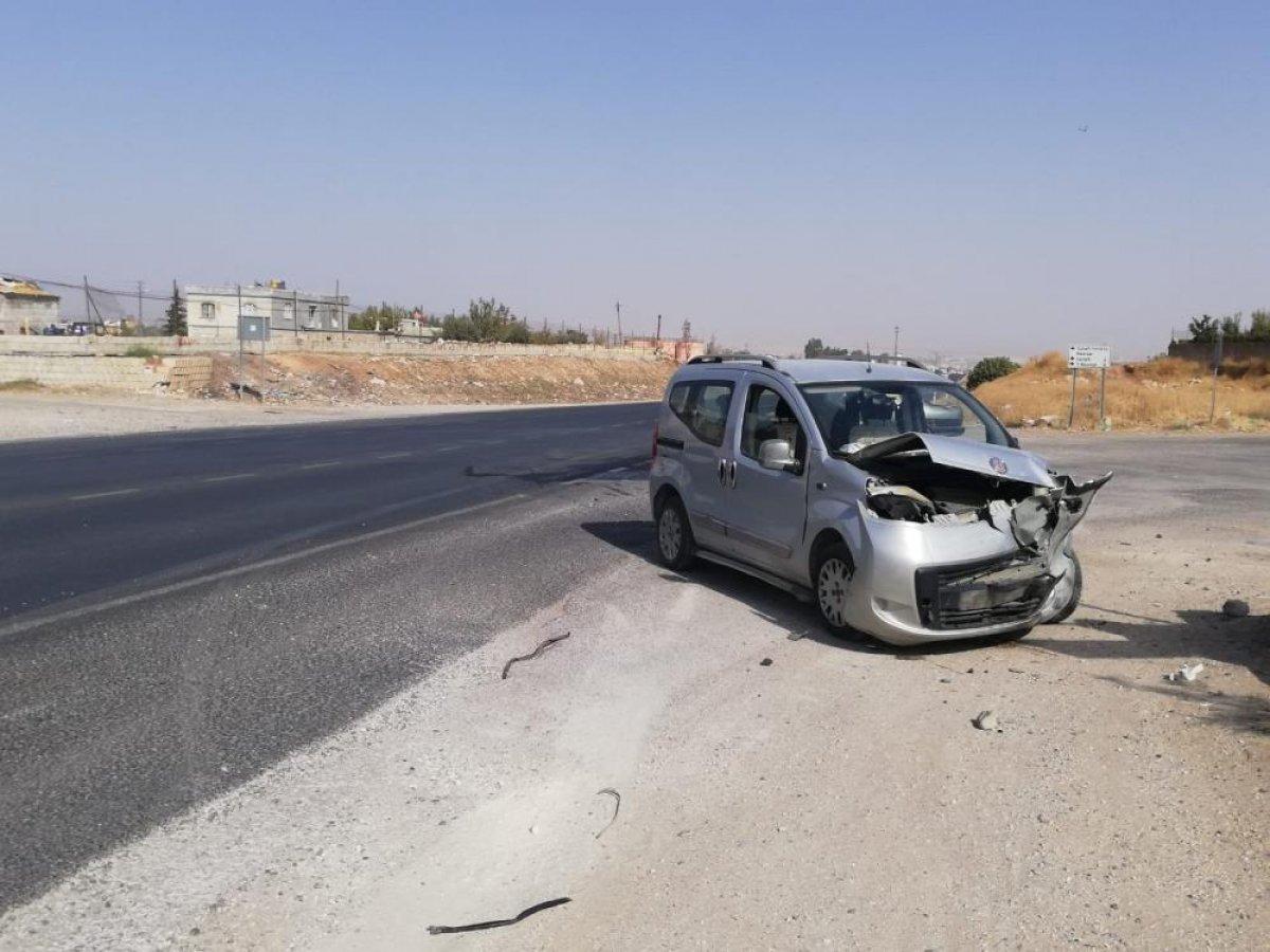 Gaziantep te meydana gelen kazada 3 kişi yaralandı #4