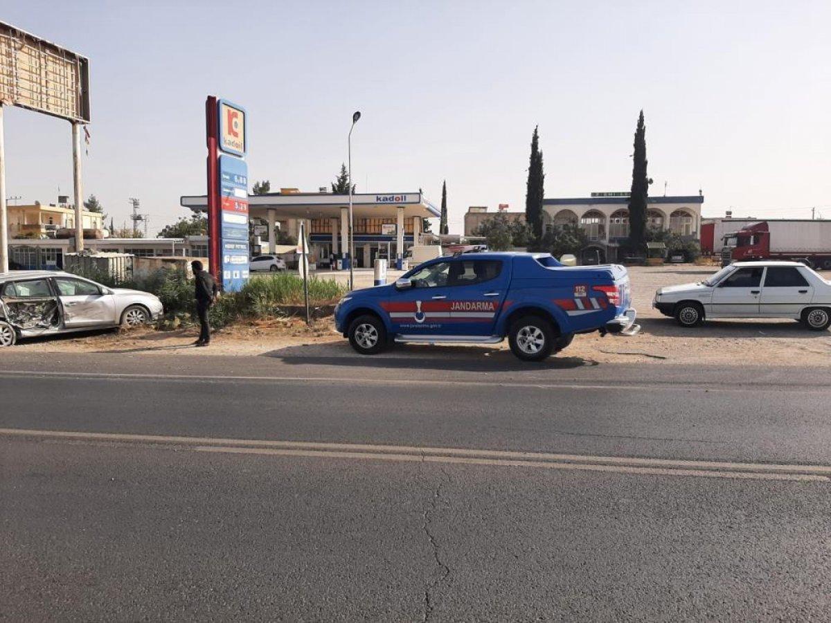 Gaziantep te meydana gelen kazada 3 kişi yaralandı #3