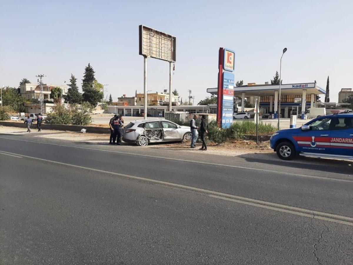 Gaziantep te meydana gelen kazada 3 kişi yaralandı #1