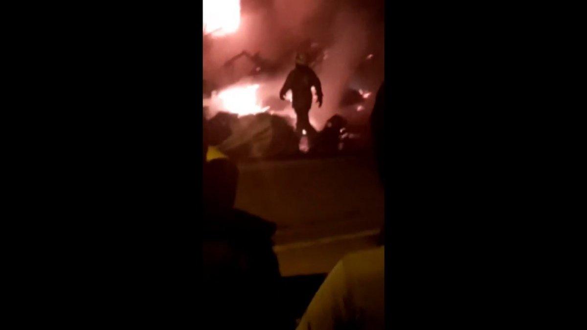 İstanbul da bir binadaki doğalgaz hattında patlama meydana geldi #5