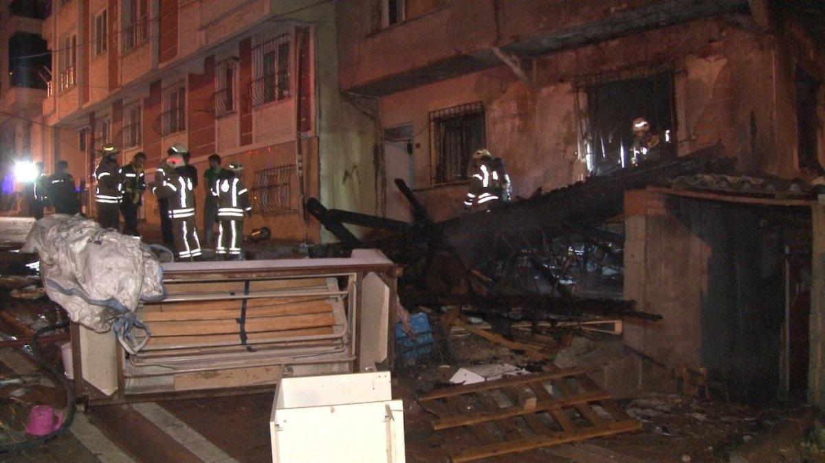 İstanbul da bir binadaki doğalgaz hattında patlama meydana geldi #1