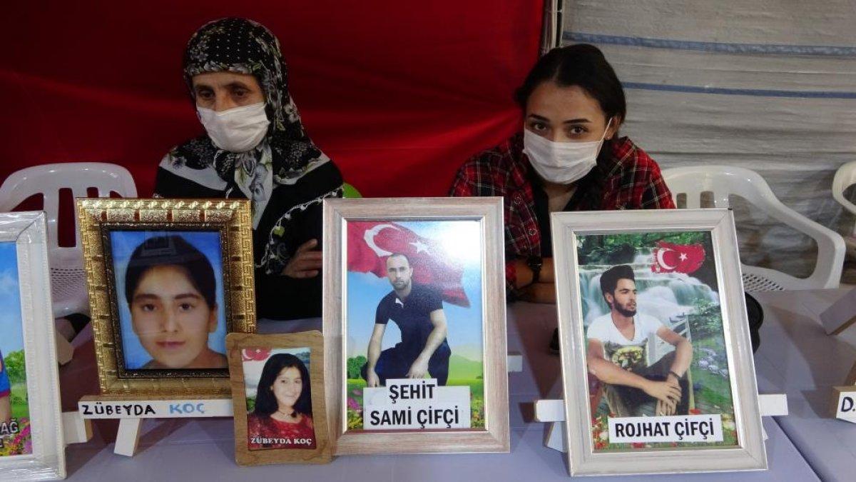 Diyarbakır da nöbete katılan ağabey: Kardeşimi HDP kaçırdı #3
